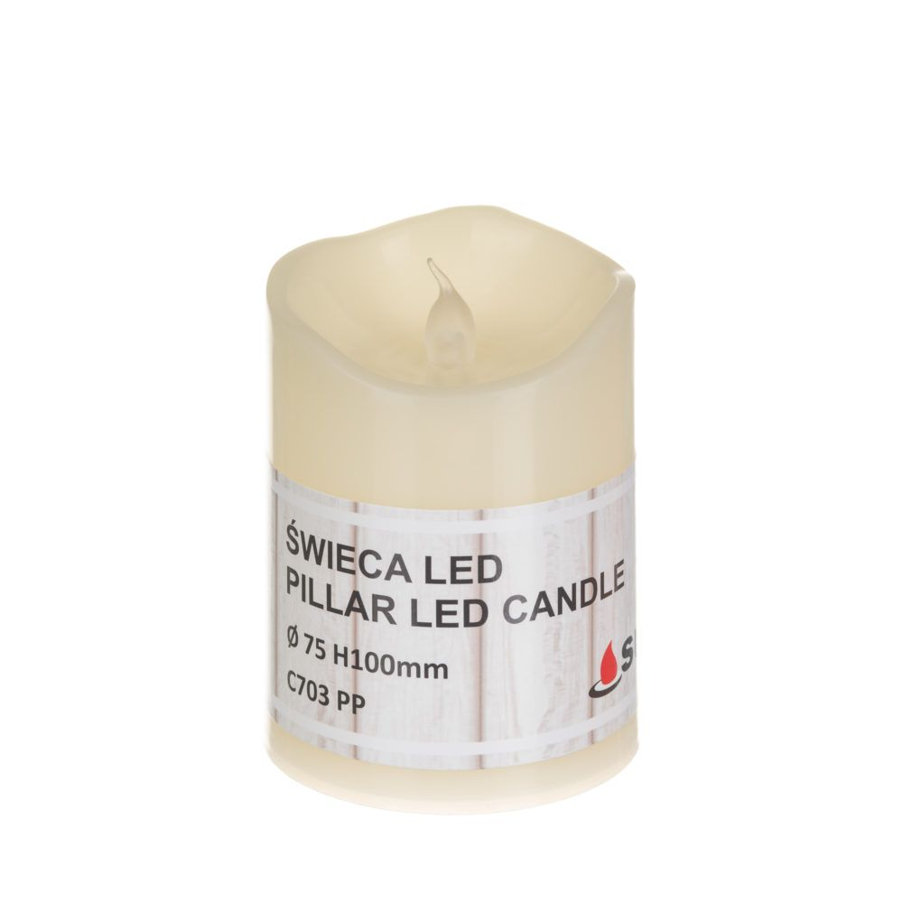 LED candle Ø75